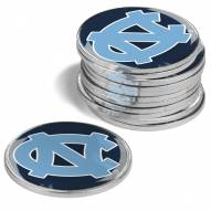 North Carolina Tar Heels 12-Pack Golf Ball Markers