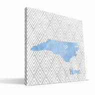 "North Carolina Tar Heels 12"" x 12"" Home Canvas Print"