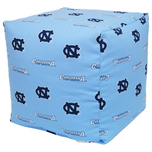 "North Carolina Tar Heels 18"" x 18"" Cube Cushion"