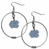 "North Carolina Tar Heels 2"" Hoop Earrings"