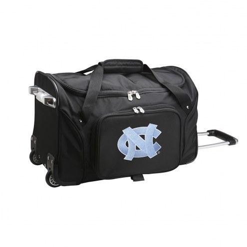 "North Carolina Tar Heels 22"" Rolling Duffle Bag"