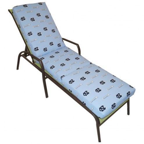 North Carolina Tar Heels 3 Piece Chaise Lounge Chair Cushion