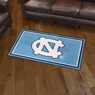North Carolina Tar Heels 3' x 5' Area Rug