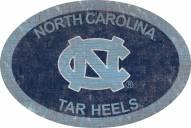 "North Carolina Tar Heels 46"" Team Color Oval Sign"