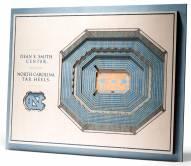 North Carolina Tar Heels 5-Layer StadiumViews 3D Wall Art