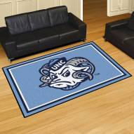North Carolina Tar Heels 5' x 8' Area Rug