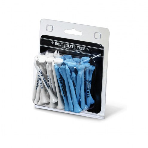 North Carolina Tar Heels 50 Golf Tee Pack