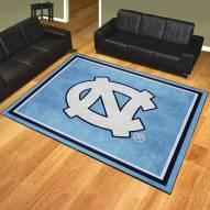 North Carolina Tar Heels 8' x 10' Area Rug