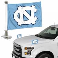 North Carolina Tar Heels Ambassador Hood & Trunk Car Flag