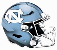 North Carolina Tar Heels Authentic Helmet Cutout Sign
