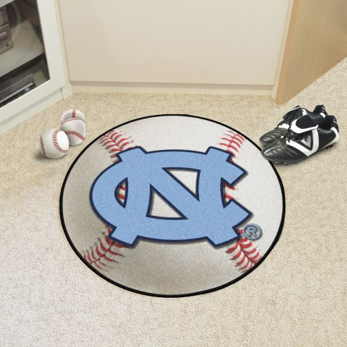North Carolina Tar Heels Baseball Rug