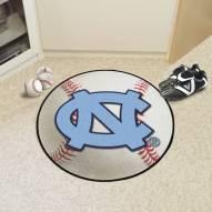 North Carolina Tar Heels Baseball Rug