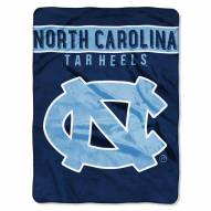 North Carolina Tar Heels Basic Plush Raschel Blanket