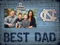 North Carolina Tar Heels Best Dad Clip Frame