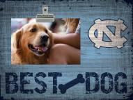 North Carolina Tar Heels Best Dog Clip Frame