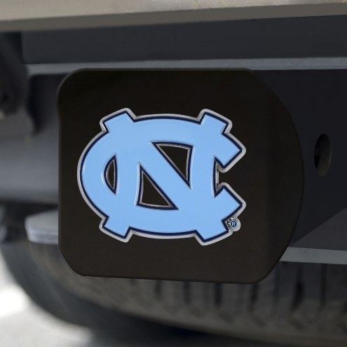 North Carolina Tar Heels Black Color Hitch Cover