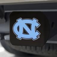North Carolina Tar Heels Black Color Hitch Cover