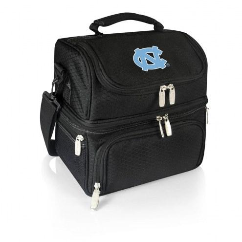 North Carolina Tar Heels Black Pranzo Insulated Lunch Box