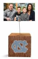 North Carolina Tar Heels Block Spiral Photo Holder
