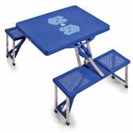 North Carolina Tar Heels Folding Picnic Table
