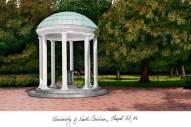 North Carolina Tar Heels Campus Images Lithograph