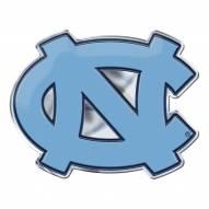 North Carolina Tar Heels Color Car Emblem