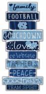 North Carolina Tar Heels Celebrations Stack Sign