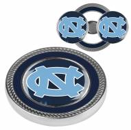 North Carolina Tar Heels Challenge Coin with 2 Ball Markers
