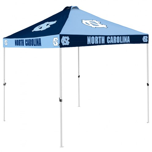 North Carolina Tar Heels 9' x 9' Checkerboard Tailgate Canopy Tent