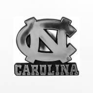 North Carolina Tar Heels Chrome Car Emblem