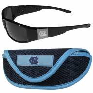 North Carolina Tar Heels Chrome Wrap Sunglasses & Sports Case