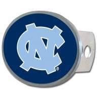North Carolina Tar Heels Class II and III Oval Metal Hitch Cover