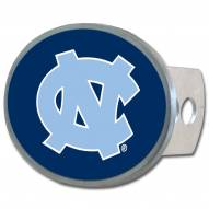 North Carolina Tar Heels Class II and III Oval Metal Hitch Cover