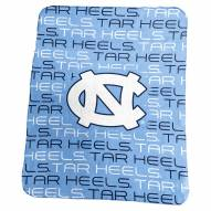 North Carolina Tar Heels Classic Fleece Blanket