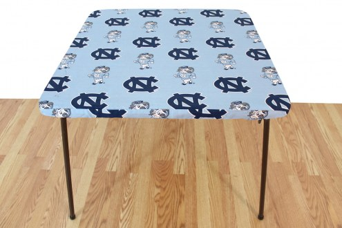 North Carolina Tar Heels Card Table Cover