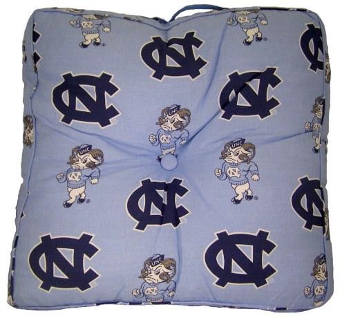 North Carolina Tar Heels Floor Pillow