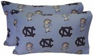 North Carolina Tar Heels Printed Pillowcase Set