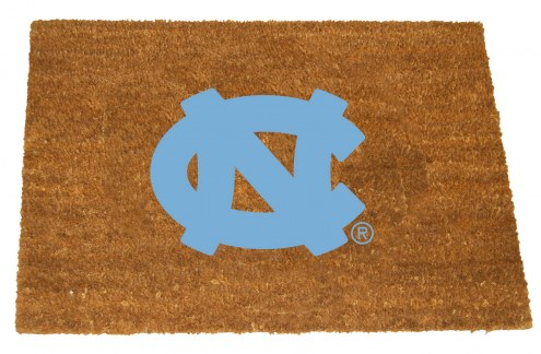 North Carolina Tar Heels Colored Logo Door Mat