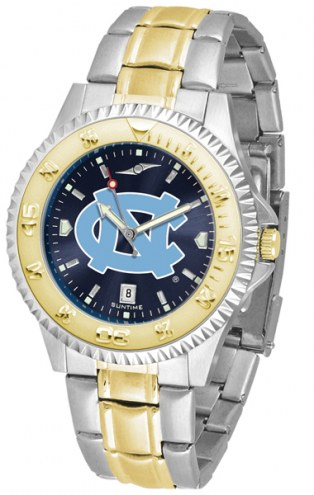 North Carolina Tar Heels Competitor Two-Tone AnoChrome Men's Watch
