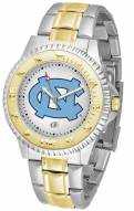 North Carolina Tar Heels Competitor Two-Tone Men's Watch