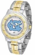 North Carolina Tar Heels Competitor Two-Tone Men's Watch