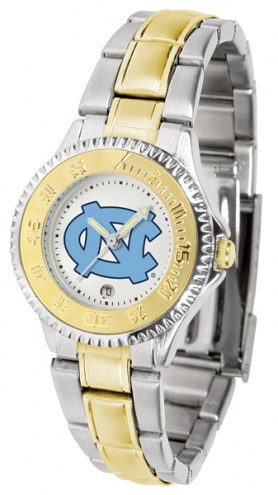 North Carolina Tar Heels Competitor Two-Tone Women's Watch