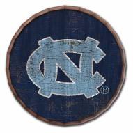 """North Carolina Tar Heels Cracked Color 24"""" Barrel Top"""