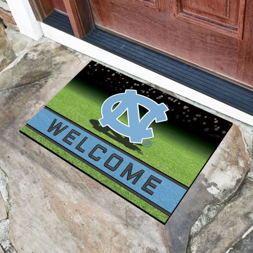 North Carolina Tar Heels Crumb Rubber Door Mat