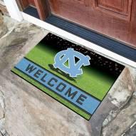 North Carolina Tar Heels Crumb Rubber Door Mat