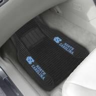 North Carolina Tar Heels Deluxe Car Floor Mat Set