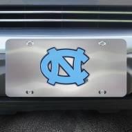 North Carolina Tar Heels Diecast License Plate
