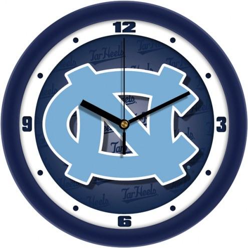 North Carolina Tar Heels Dimension Wall Clock