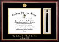 North Carolina Tar Heels Diploma Frame & Tassel Box