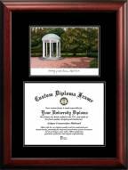 North Carolina Tar Heels Diplomate Diploma Frame